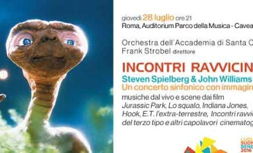 Steven Spielberg e John Williams: il concerto video-sinfonico negli INCONTRI RAVVICINATI di Santa Cecilia