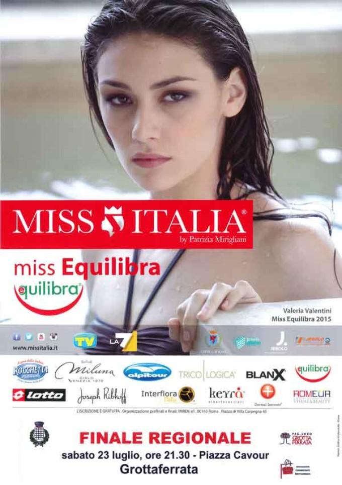 La Finale Regionale di Miss Italia a Grottaferrata!