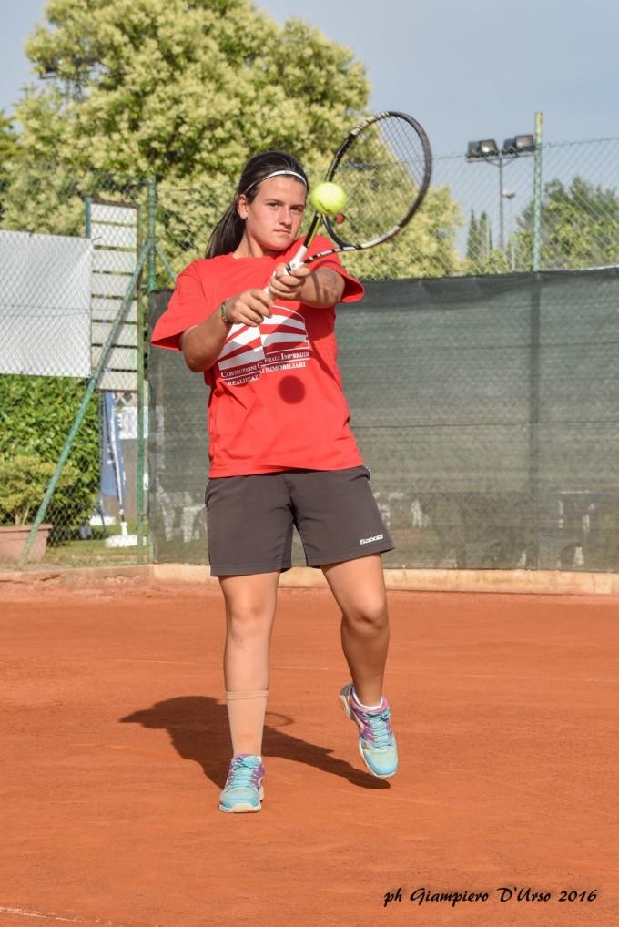Tc New Country Club (tennis), Mastromarino qualificata ai campionati italiani Under 14