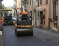 Zagarolo – Conclusi i lavori del tratto fognario in Via Calandrelli.