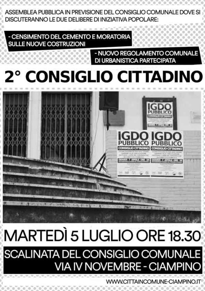By Città in Comune  – Ciampino. 2° Consiglio Cittadino
