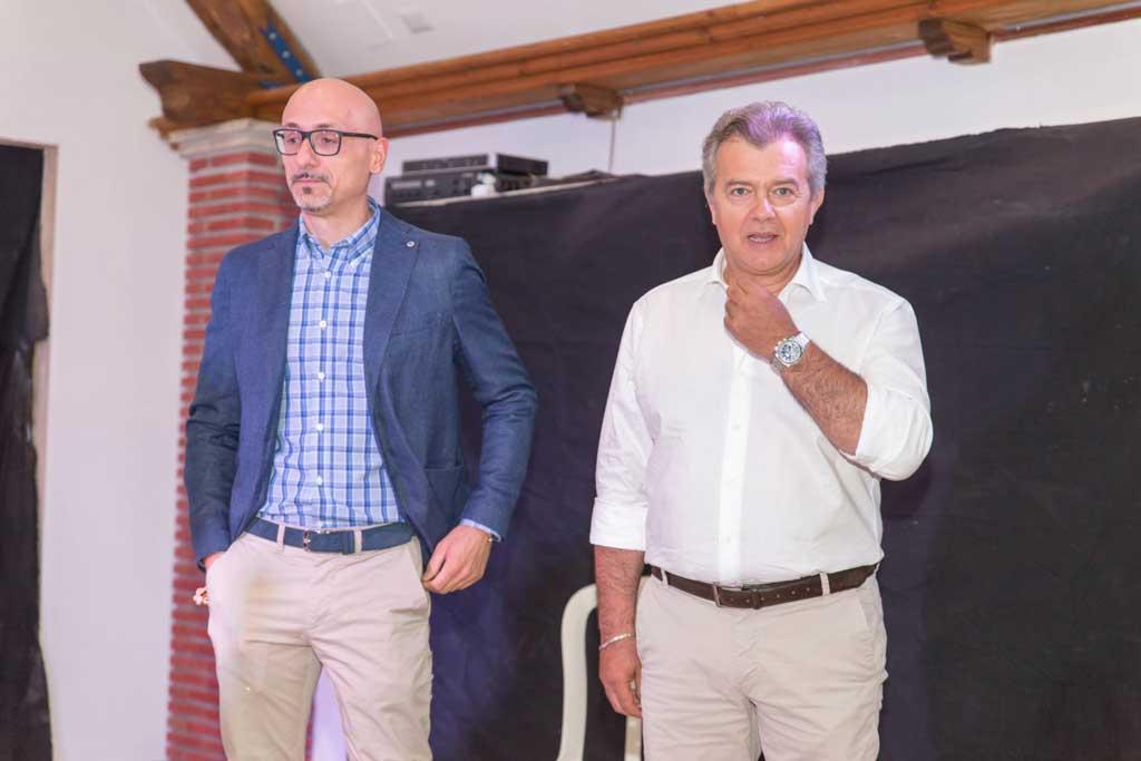 Mauro Ansovini e Marco De Carolis