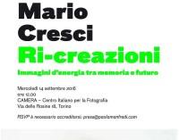 Ri-creazione di Mario Cresci