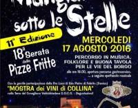 """""""Mangiando sotto le stelle"""" nello splendido borgo di Castel di Tora"""