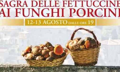 Il 12 e 13 agosto Casaprota celebra le sue famose fettuccine ai funghi porcini