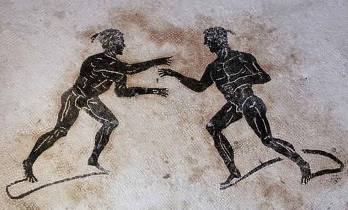 OLIMPIADI 2016. Lo sport a Pompei