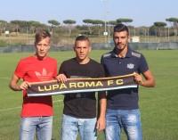 Lega Pro, tris di innesti per la Lupa Roma: ufficiali Iorio, Ventola e Garufi