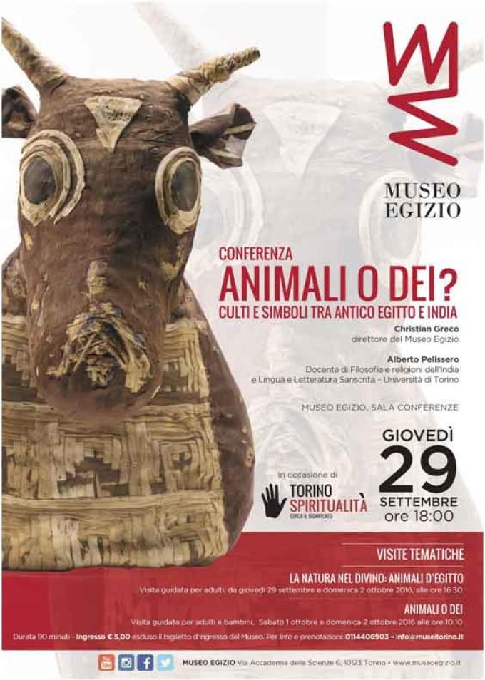 Al Museo Egizio un incontro per scoprire i culti animali