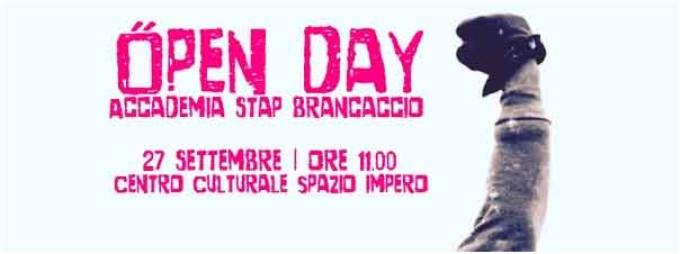 Open Day dell' Accademia Stap Brancaccio