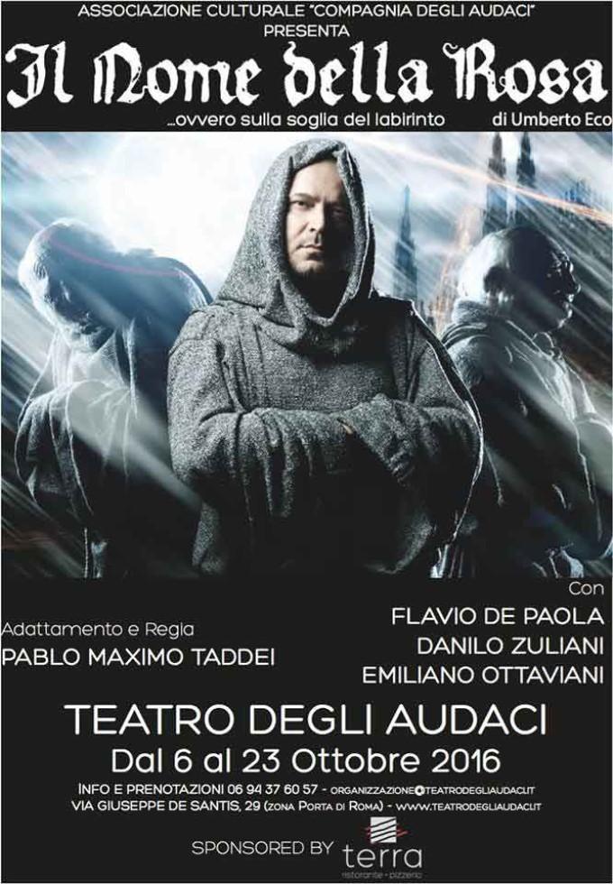 Teatro degli Audaci. Il Nome della Rosa