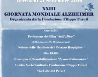 XIIIª Giornata Mondiale Alzheimer, due eventi a Zagarolo