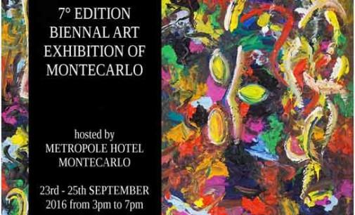 L'artista italiano Cesare Catania alla Biennale di Montecarlo