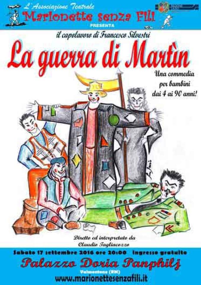 """""""Marionette Senza Fili"""" Porta In Scena """"La Guerra Di Martin"""""""