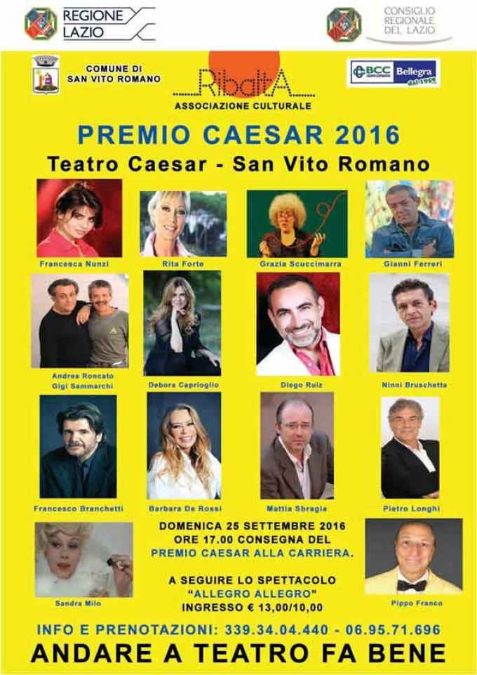 San Vito Romano: al via la terza stagione teatrale del teatro Caesar