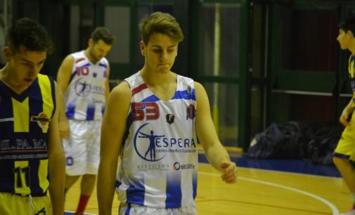 Basket Frascati, l'Under 18 Eccellenza riparte senza Cavallo che si è trasferito al Latina in A2!
