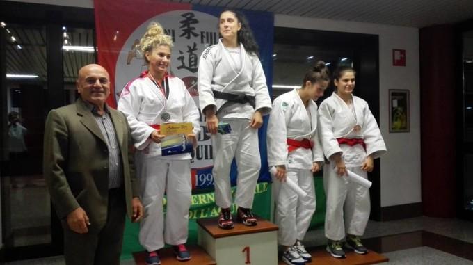 Asd Judo Energon Esco Frascati: la Favorini trionfa a L'Aquila, sul podio pure Mattozzi e Farina