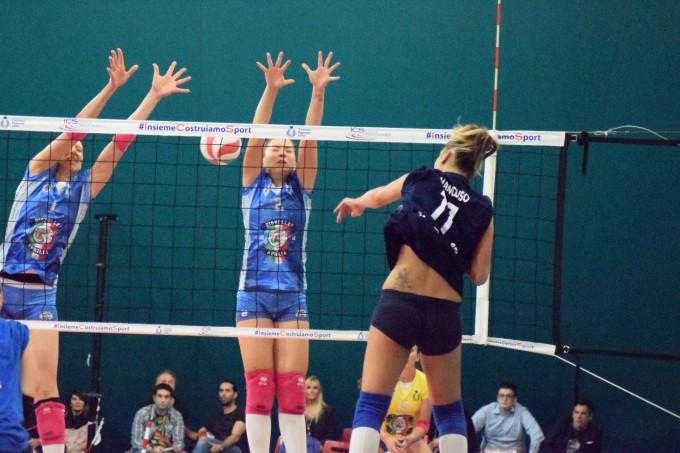 Il PalaGio'Volley non basta, Cutrofiano espugna Aprilia