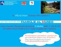 Giornata Nazionale delle Famiglie al Museo alla Villa di Orazio (Licenza, Rm)