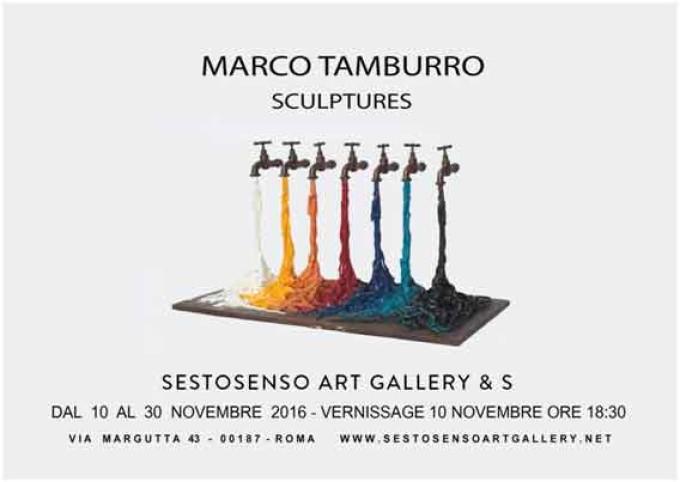 Marco Tamburro Sculptures