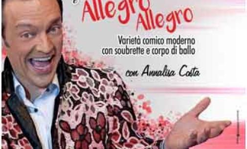 """Teatro Civico di Rocca di Papa – """"Allegro Allegro"""""""
