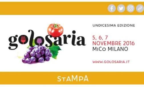 SAVE THE DATE: venerdì 21 ottobre Golosaria
