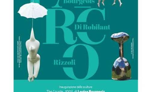 Inaugurazione delle tre nuove sculture donate alla città di Origgio
