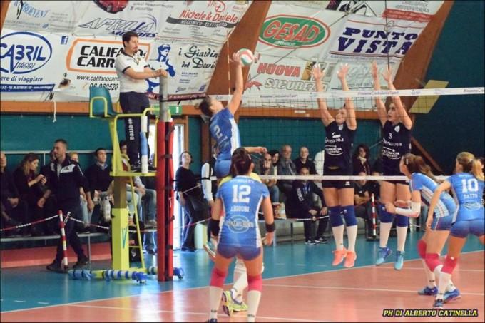 Giò Volley Aprilia all'esame Isernia
