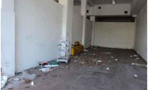 San Camillo: garage abbandonato rifugio di sbandati