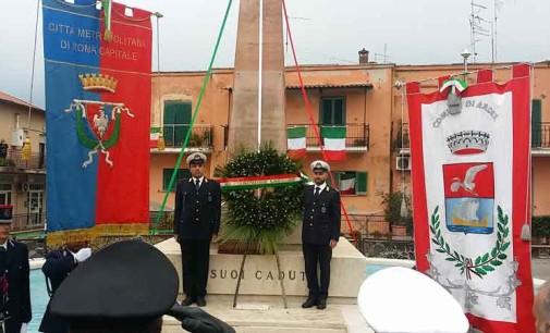 Ardea, in piazza ricordati i caduti: inaugurato il monumento restaurato