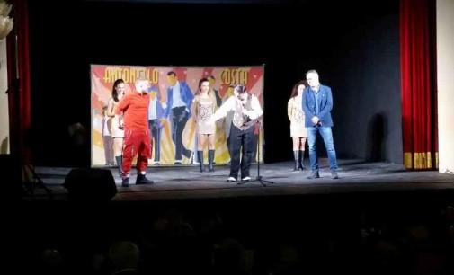 Fiuggi, Grande successo per lo spettacolo di Antonello Costa