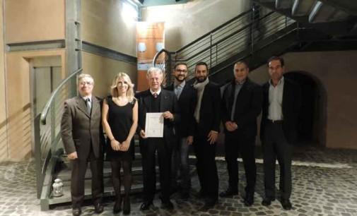 Luca Maroni premia il Marino Superiore Dop 2015