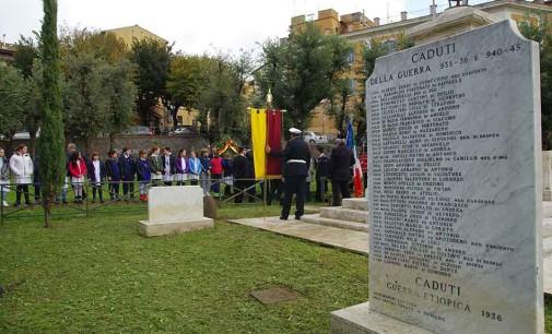 Albano, cerimonie 4 novembre