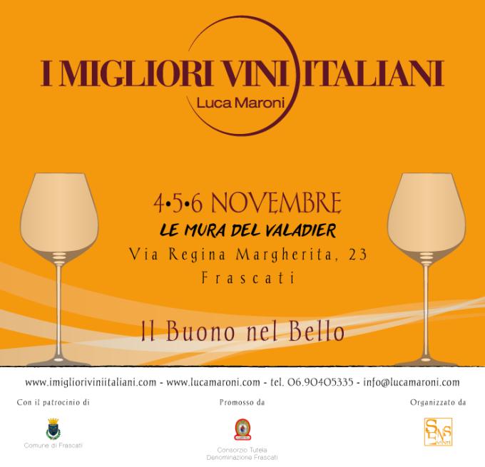 Frascati 'Il buono (del vino) e il bello' con Luca Maroni