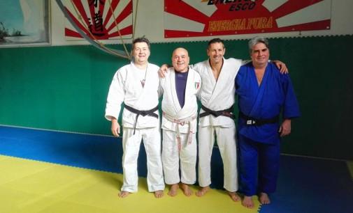 Asd Judo Energon Esco Frascati, amarcord a S. Stefano con la squadra campione d'Italia 31 anni fa