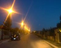 Albano, accesi i lampioni di via Finlandia