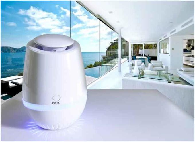Aria pura in casa, arriva il generatore di ioni e ozono