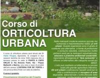 Marino: corso gratuito di Orticoltura Urbana a Punto a Capo Onlus
