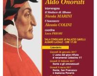 """Albano Laziale,  """"Lectio Magistralis"""" sulla Divina Commedia"""