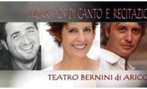 Al Teatro Bernini workshop di Canto e recitazione