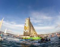 Thomas Coville  record mondiale veleggiando intorno al mondo