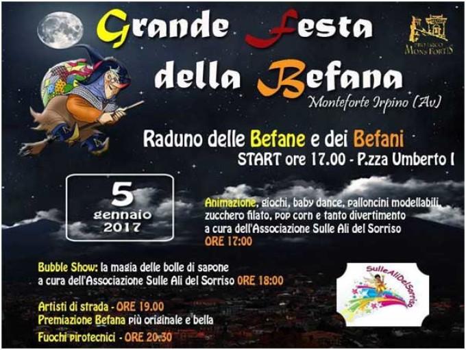 Grande Festa della Befana – Monteforte Irpino (AV)