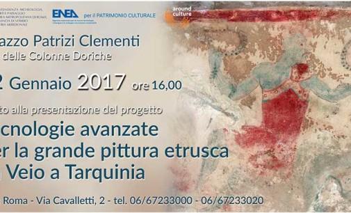 """""""Tecnologie avanzate per la grande pittura etrusca da Veio a Tarquinia"""""""