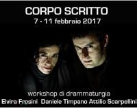 Corpo Scritto workshop di drammaturgia