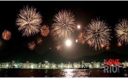 Il Capodanno di Rio de Janeiro: Copacabana vista dal mare