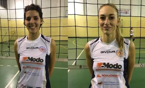 Modo Volley de' Settesoli Marino (B2/f), che colpi: ecco Camilla Izzi e Viviana Aquilanti