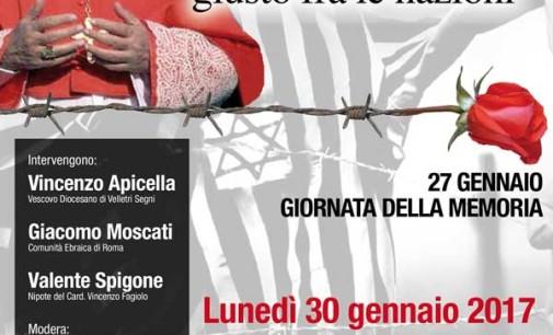 Colleferro – Giornata della Memoria. Ricordando Vincenzo Fagiolo