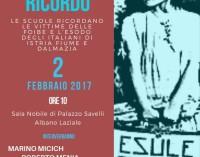 Giorno Del Ricordo: Fini, Violante e Menia ne discutono con gli studenti di Albano