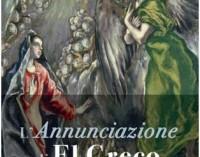 Roma, Musei Capitolini,  mostra l'Annunciazione di El Greco