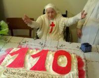 Tanti auguri suor Candida.  110 anni di vita spesa a servizio degli altri