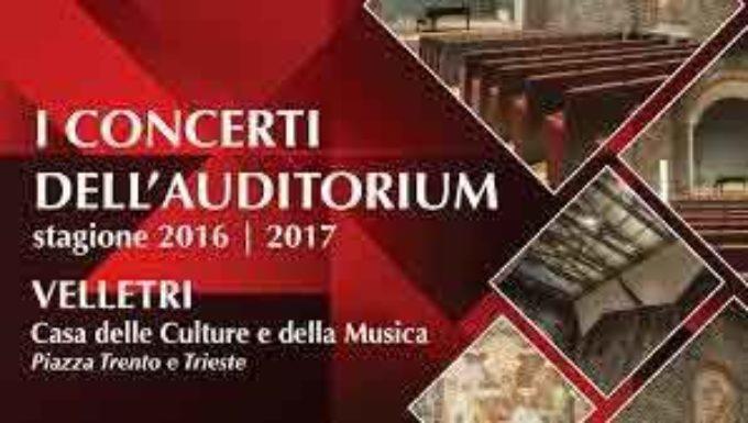 Velletri. I Concerti dell'Auditorium tornano alla Casa delle Culture